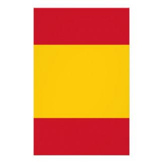 Flag of Spain, Bandera de España, Bandera Española Stationery