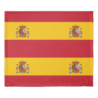 Flag of Spain - Bandera de Espana Duvet Cover