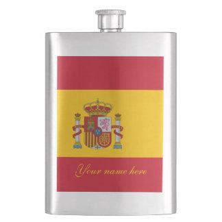Flag of Spain - Bandera de Espana Hip Flask