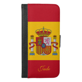 Flag of Spain - Bandera de Espana iPhone 6/6s Plus Wallet Case