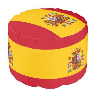 Flag of Spain - Bandera de Espana Pouf