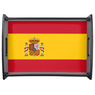 Flag of Spain - Bandera de Espana Serving Tray
