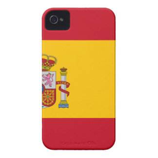 Flag of Spain - Bandera de España - Spanish Flag Case-Mate iPhone 4 Case