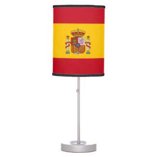 Flag of Spain - Bandera de Espana Table Lamp