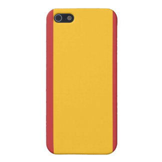 Flag of spain cover for iPhone 5/5S