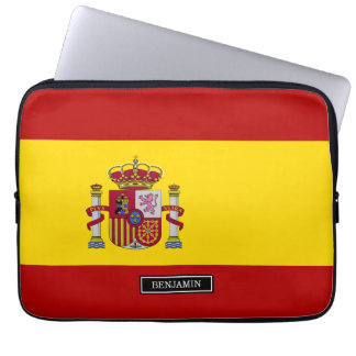Flag of Spain Laptop Sleeve