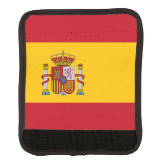 Flag of Spain Luggage Handle Wrap