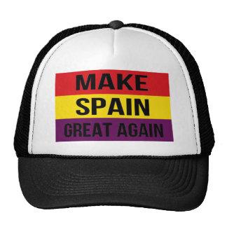 Flag of Spain - Make Spain Great Again Trucker Hat