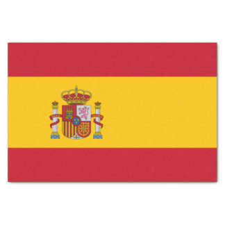 Flag of Spain Tissue Paper