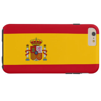 Flag of Spain Tough iPhone 6 Plus Case