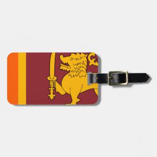 Flag of Sri Lanka (ශ්රී ලංකාවේ ජාතික කොඩිය) Luggage Tag
