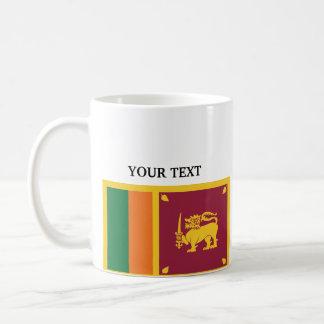Flag of Sri Lanka Coffee Mug