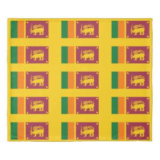 Flag of Sri Lanka Island Duvet Cover
