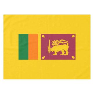 Flag of Sri Lanka Island Tablecloth