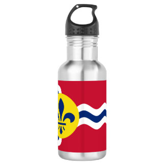 Flag of St. Louis, Missouri 532 Ml Water Bottle