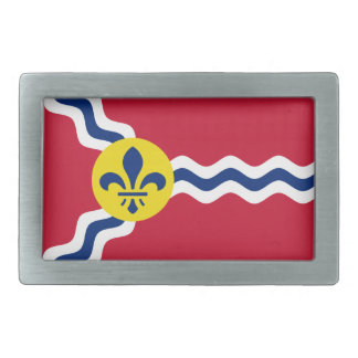 Flag of St. Louis, Missouri Belt Buckles