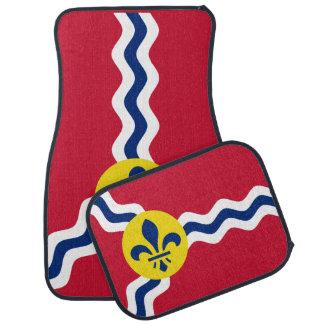 Flag of St. Louis, Missouri Car Mat