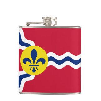 Flag of St. Louis, Missouri Flasks