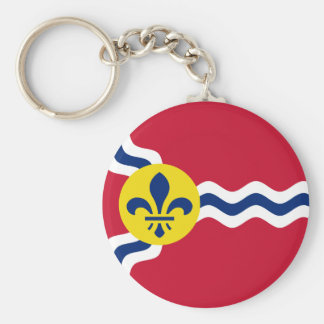Flag of St. Louis, Missouri Keychain