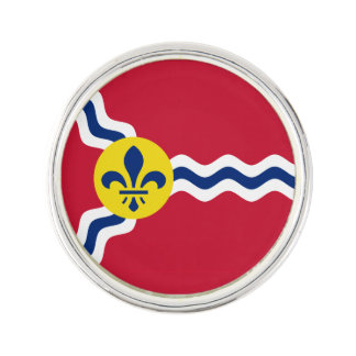 Flag of St. Louis, Missouri Lapel Pin