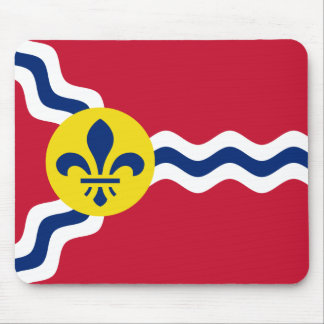 Flag of St. Louis, Missouri Mouse Pad