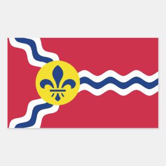 Flag of St. Louis, Missouri Sticker