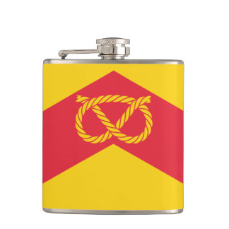 Flag of Staffordshire Hip Flask