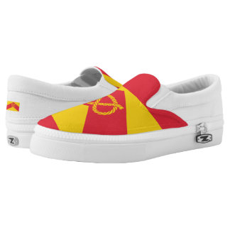 Flag of Staffordshire Slip-On Sneakers