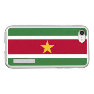 Flag of Suriname Silver iPhone Case
