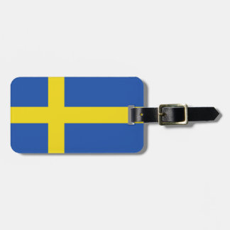 Flag of Sweden Bag Tag