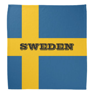 Flag of Sweden Bandana