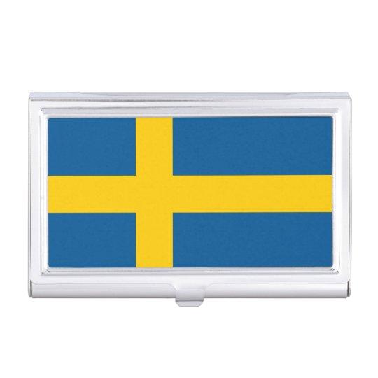 Flag of Sweden Business Card Holder