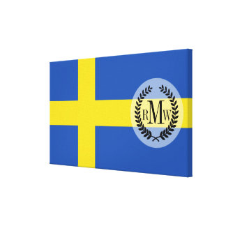 Flag of Sweden Canvas Print