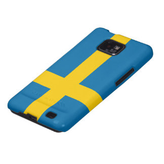 Flag of Sweden Galaxy S2 Covers