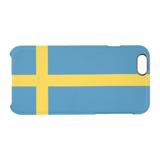 Flag of Sweden Clear iPhone Case