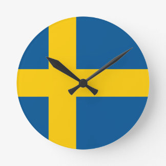 Flag of Sweden Clock