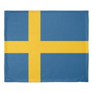 Flag of Sweden Duvet Cover