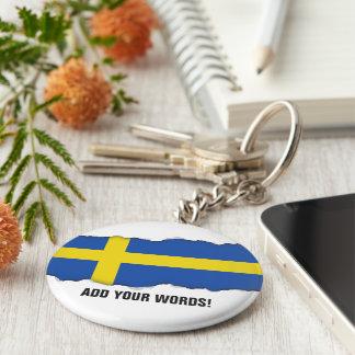 Flag of Sweden Keychain