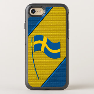 Flag of Sweden OtterBox Symmetry iPhone 7 Case