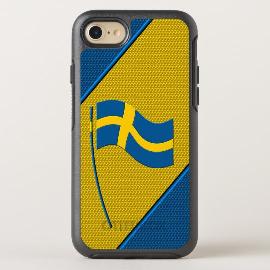 Flag of Sweden OtterBox Symmetry iPhone 8/7 Case