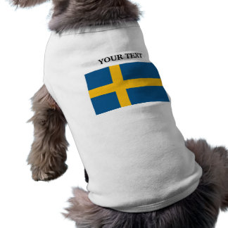 Flag of Sweden Pet Shirt