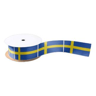Flag of Sweden Satin Ribbon