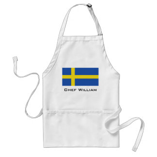 Flag of Sweden Standard Apron