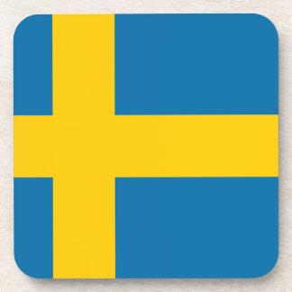 Flag of Sweden - Sveriges flagga - Swedish Flag Coaster