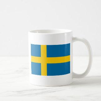 Flag of Sweden - Sveriges flagga - Swedish Flag Coffee Mug