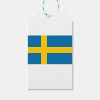 Flag of Sweden - Sveriges flagga - Swedish Flag Gift Tags