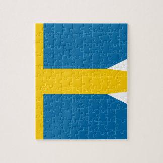 Flag of Sweden - Sveriges flagga - Swedish Flag Jigsaw Puzzle