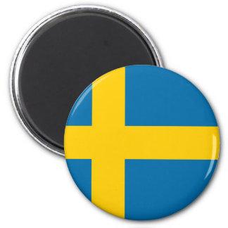 Flag of Sweden - Sveriges flagga - Swedish Flag Magnet