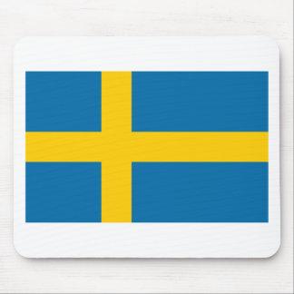 Flag of Sweden - Sveriges flagga - Swedish Flag Mouse Pad