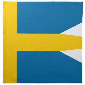 Flag of Sweden - Sveriges flagga - Swedish Flag Napkin
